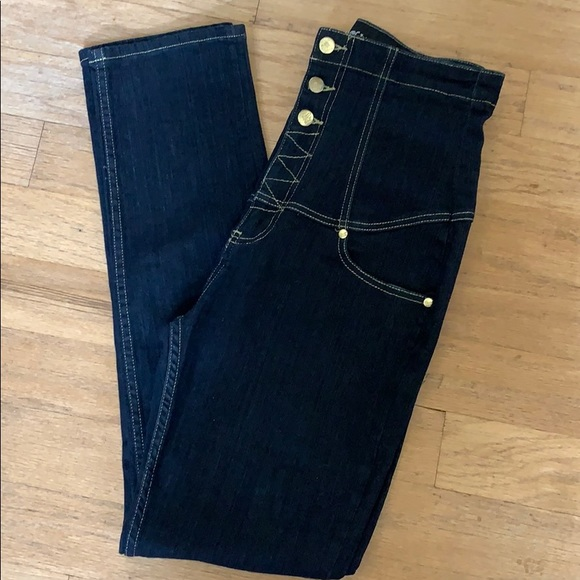 Virgin Only Denim - Super High Waist Jeans